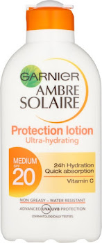 Ambre Solaire Moisturizing Protection Milk Lotion - SPF 20, 200ml