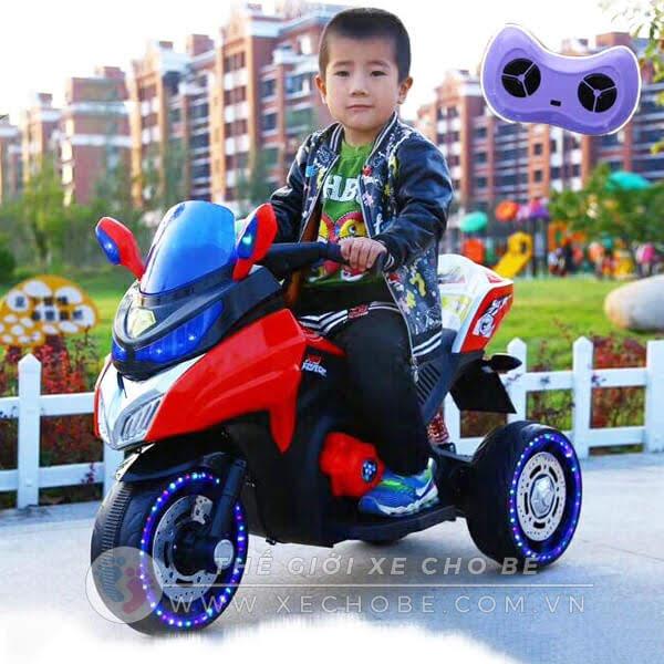 Xe máy điện trẻ em 1800d có điều khiển từ xa