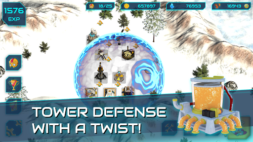 Boulder Base - Futuristic Castle Defense  screenshots 11