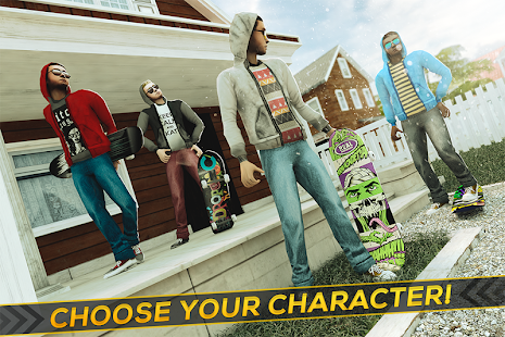 True Skateboarding Ride Skateboard Game Freestyle Screenshot
