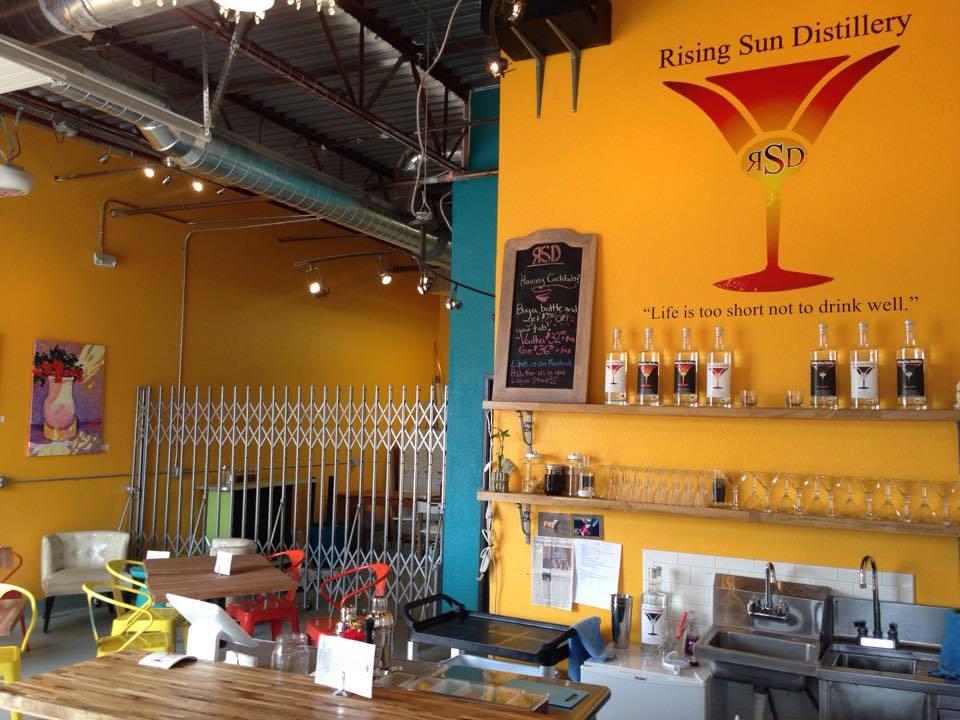 Rising Sun Distillery Denver