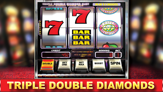 triple double diamond slot machine