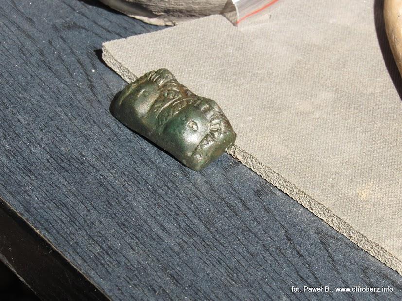 Fragment znaleziony wPełczyskach