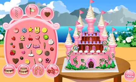 Princess Castle Cake Cooking 3.0.1 screenshot 525269