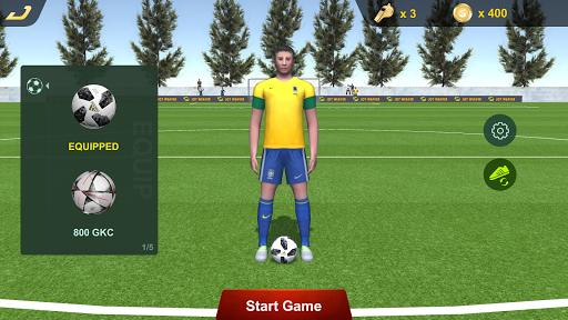 Flick Football Free Penalty Kick Strike Champion ss2