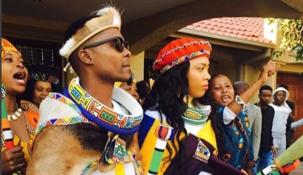 Dumi Masilela and Simz Ngema tied the knot last year.