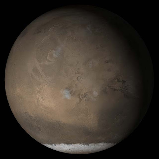 Mars at Ls 193°: Tharsis