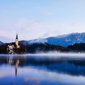 Bled - Slovenia by Milan Mihalič - Buildings & Architecture Public & Historical