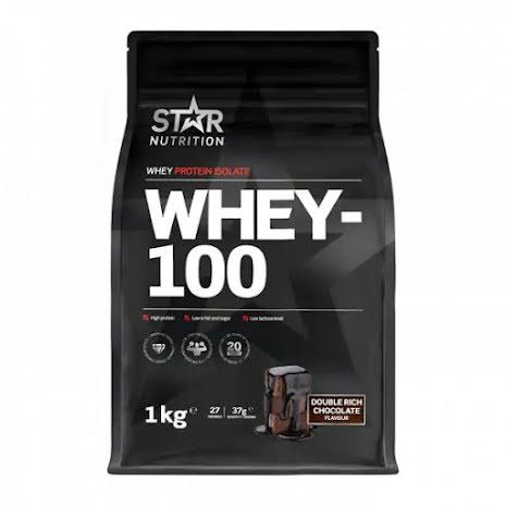 Star Nutrition Whey-100 1kg - Choklad
