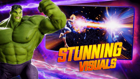 MARVEL Strike Force MOD (Unlimited Energy) 2