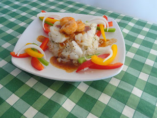 Seared Cod With Cilantro Lime Rice Recipe