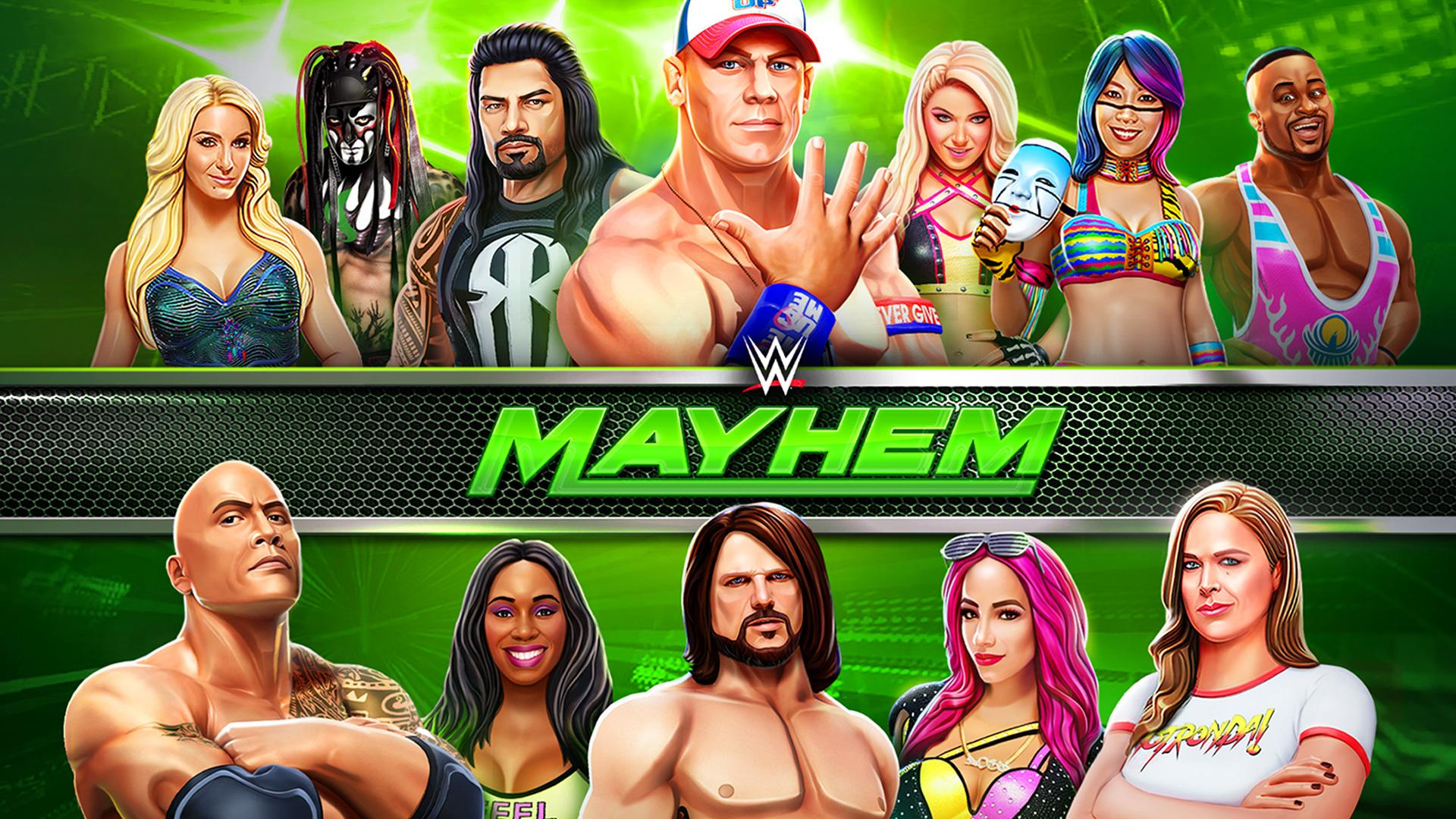 WWE Mayhem (MOD, Unlimited Gold, Cash) 1