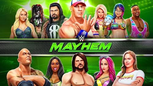 Screenshot 1 WWE Mayhem 1.15.398 APK+DATA MOD