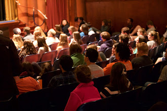 Photo: Excellent questions from the audience