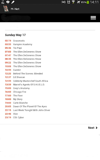 South African TV Guide