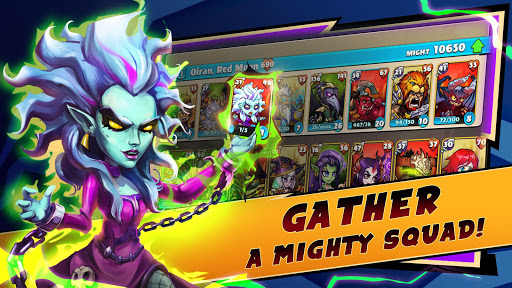 Mighty Party [Mod] Apk - So tài chiến thuật RPG