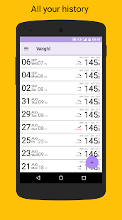 BMI-Weight Tracker- screenshot thumbnail