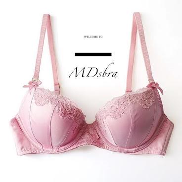 Pink x lace bra
