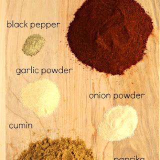 6-Ingredient Homemade Taco Seasoning.