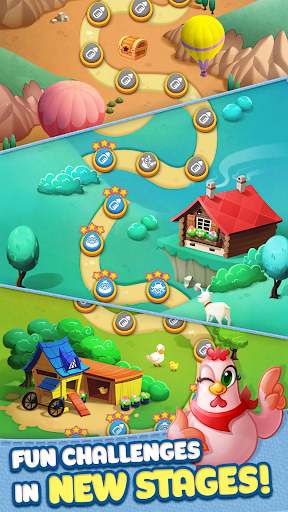 Bubble CoCo: Color Match Bubble Shooter  mod screenshots 4