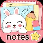 Niki: Notes mémo mignonnes icon