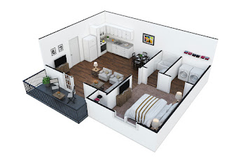 Go to The Alcove Floorplan page.
