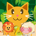 QCat-Toddler Game:Animal(Free) icon