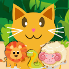 QCat  Animal 8 in 1 Games (Free) icon