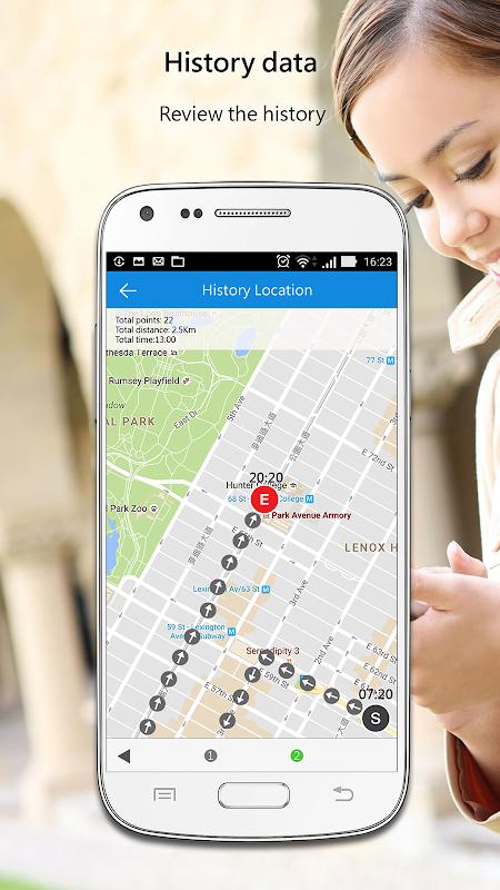 iCar - Advanced GPS tracker screenshots