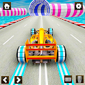 Impossible Formula Car Racing Stunt New Free Games icon