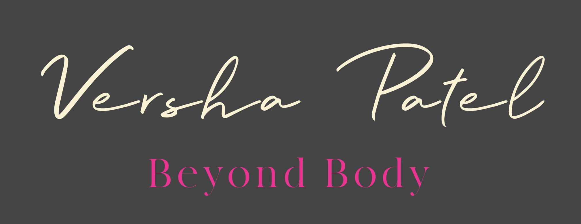 Beyond Body Versha Patel Logo