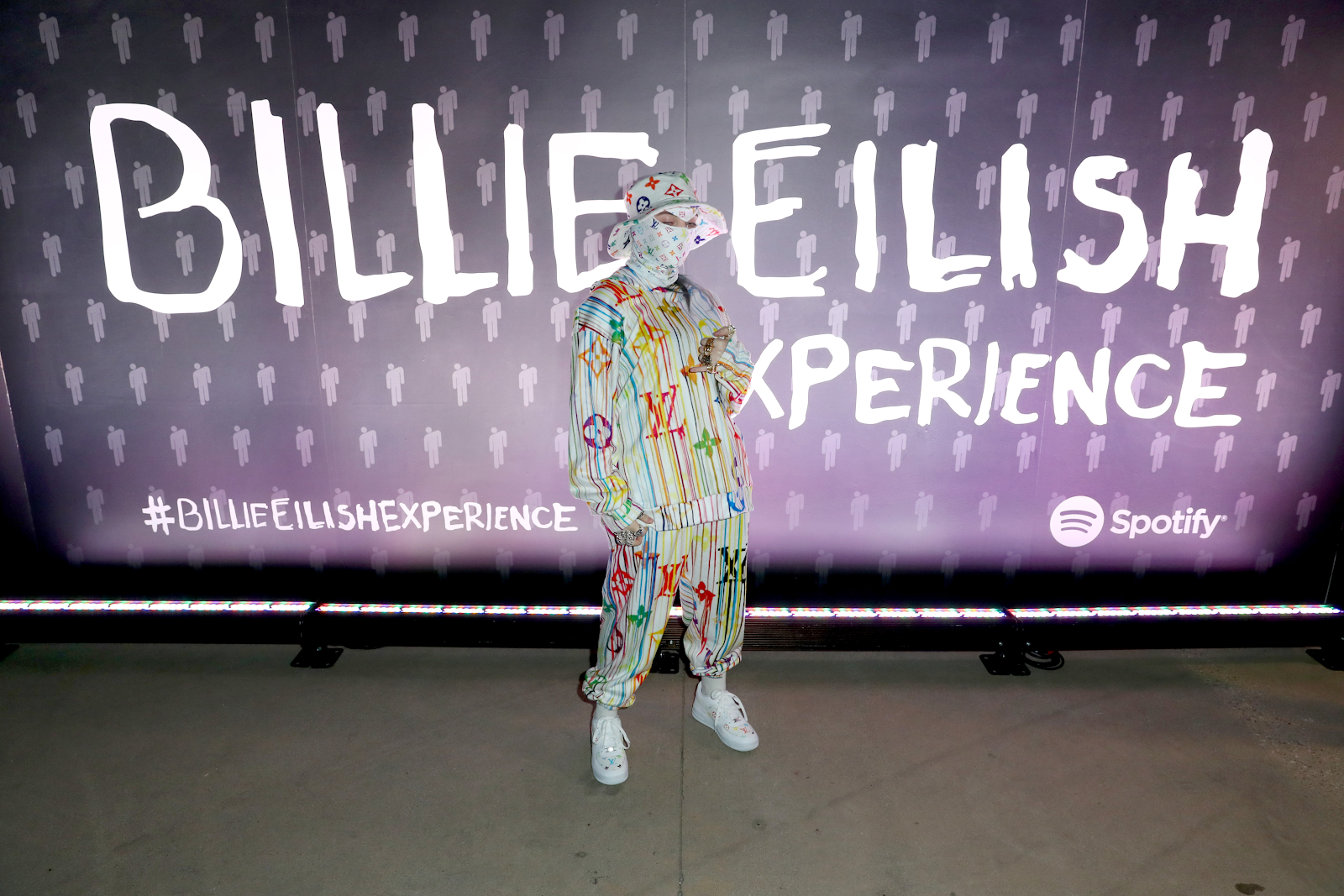 Image of Spotify's Billie Eilish Experience