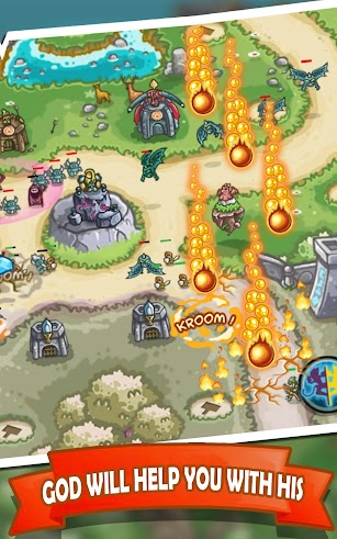 Kingdom Defense 2: Empire Warriors - Tower defense screenshot for Android