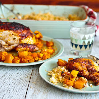 Thai Red Curry Roast Chicken.