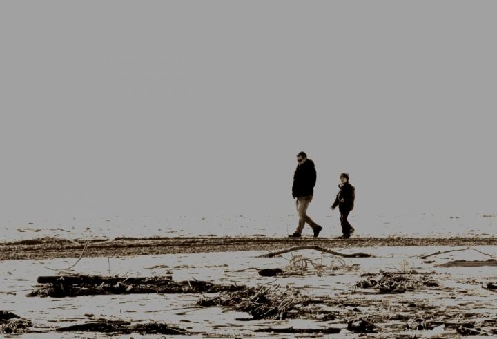 Padre e figlio,vicini e cosi lontani .. di Marina 64