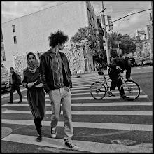 Photo: Bowery & Houston, NYC #streetphotography #blackandwhitephotography #newyorkcityphotography #ricoh  www.leannestaples.com