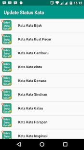 Update Status Kata - náhled
