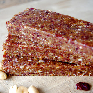 Vegan PB & J Energy Bars