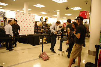 Photo: I was surprised how many photographers there were. I tried to put on my professional hat but all I kept doing was looking around for Mario.