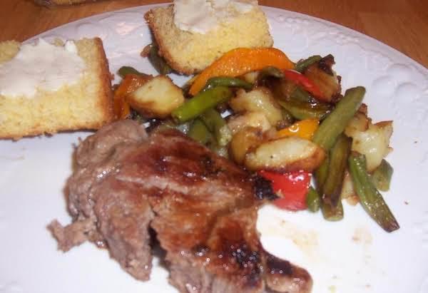 Veggies And Potato Mix On Stovetop Recipe