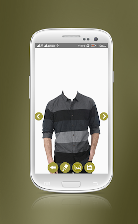 Man Casual Shirt Photo Suit 1.8 screenshot 2092295