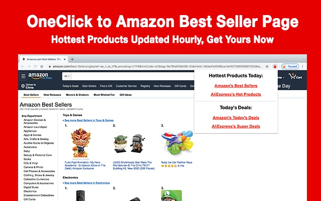 Hottest Products and Today's Deal