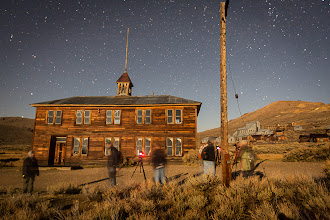 Photo: Night Photography Workshop at Bodie