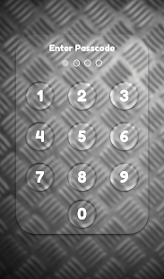 App Lock Theme - Metal - náhled