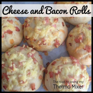 Cheese and Bacon Rolls.