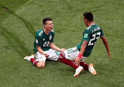 Sensation mexicaine, déception allemande: un gros duel entre El Tri et la Mannschaft