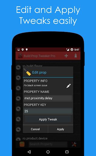 Build Prop Tweaker Pro