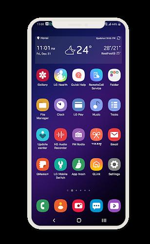 Download One Ui Theme LG G7 V35 &V40 APK latest version App