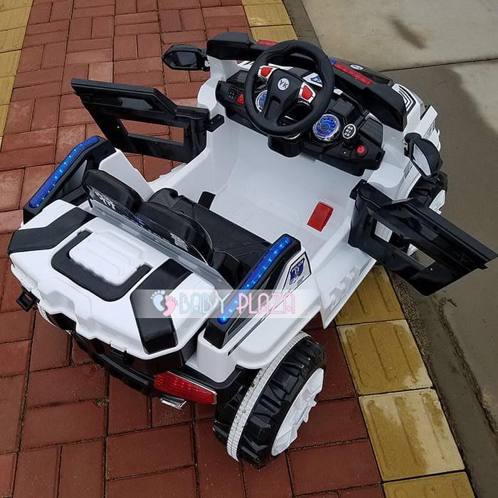 Xe oto điện cảnh sát Jeep YK-0188 5