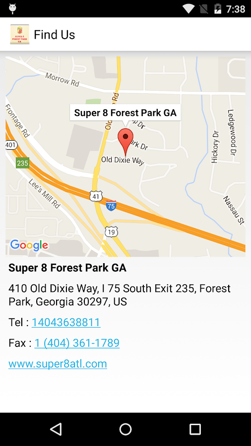Super 8 Forest Park GA- screenshot